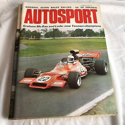 VINTAGE AUTOSPORT MAGAZINE MAG MARCH 1972 F1 RACING CARS