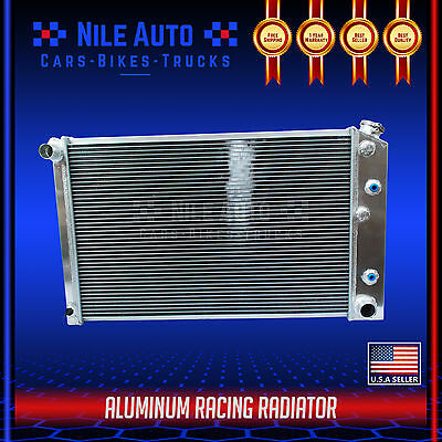 3 ROW RACING ALL ALUMINUM RADIATOR FOR 69 88 CHEVY CAMAROIMPALACUTLASS V8