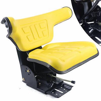 Tractor Suspension Seat Yellow For John Deere 2120 2130 2140 2150 2155 2240 2255