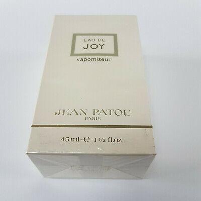 Jean Patou Eau De Joy Perfume 45ml Spray New Sealed & Boxed ( Rare Vintage )