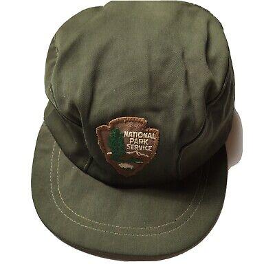 1950s Hats: Pillbox, Fascinator, Wedding, Sun Hats Vintage 1950s 1960s National Park Service Specialist Hat fitted Forestry USA  $199.99 AT vintagedancer.com