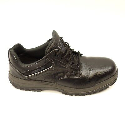 New Caterpillar Mens Black Extension Steel Toe Oxford Work Shoes Boots Size 12 Caterpillar-steel Toe Oxfords