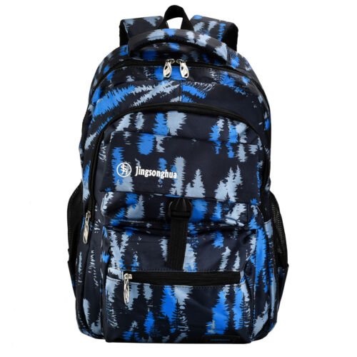 Navy Blue Backpack for Teens Perfect for School, College, Wo
