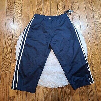 NWT Athletic Works Women's Windbreaker Capri Pants Size Large L