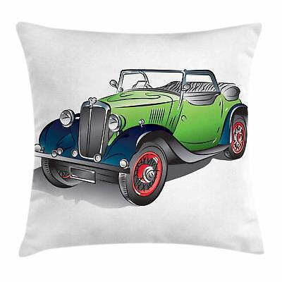 Vehicles Throw Pillow Cases Cushion Covers Ambesonne Home De