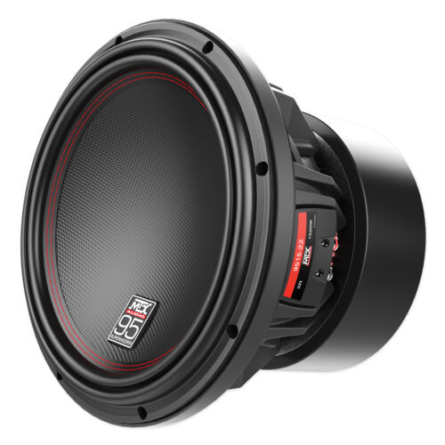 MTX Audio 9512-22 Car Stereo 12 Woofer DVC 2-Ohm Subwoofer 2