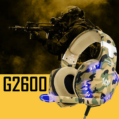 Each G2600 Stereo Gaming Headsets Headphones for PS4 New Xbox One PC with Mic