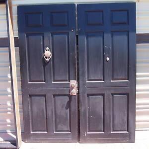Solid antique timber doors Ipswich Ipswich City Preview