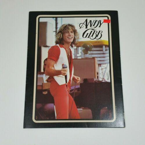 1979 Andy Gibb Rock On School Folder Portfolio