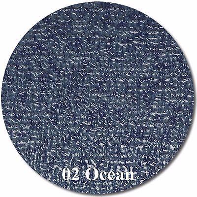 MariDeck Boat Marine Outdoor Vinyl Flooring - 34 mil - OCEAN BLUE - 6' x 29'