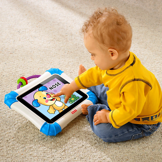 LIKE NEW - Laugh & Learn Apptivity Case for iPad devices