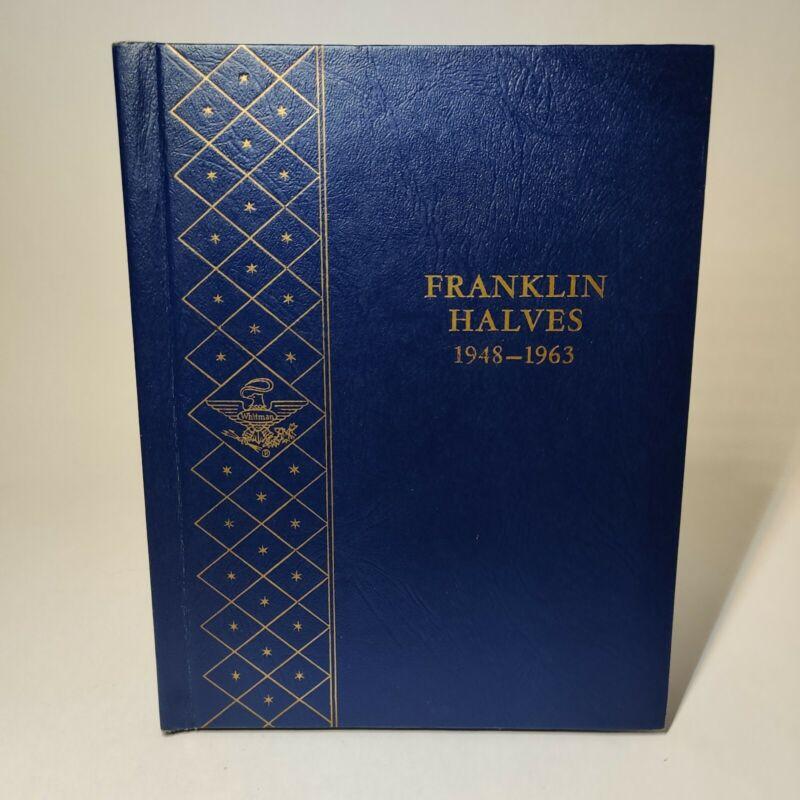 Whitman Classic Coin Album - Franklin Half Dollars 1948-1963 - Folder #9126