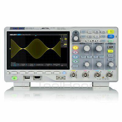 Siglent Sds1204x-e Super Phosphor Oscilloscope 4-channel 200 Mhz 1 Gsas 14 Mb