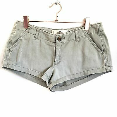 Hollister Sage Shortie Shorts Womens Size 3 Cotton