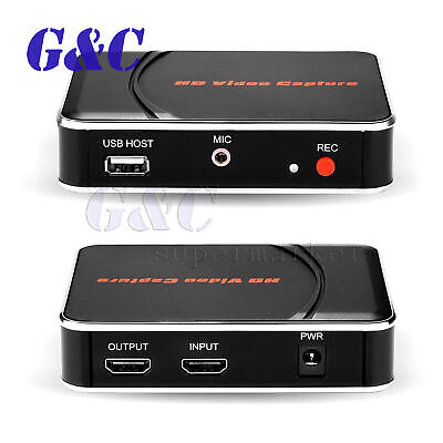 HDMI Game Capture Card HD 1080P Video Recording to USB Disk