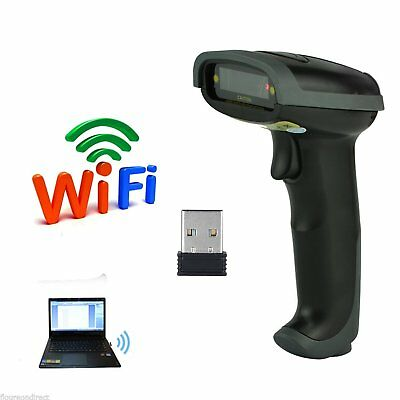 Handheld Laser Barcode Scanner Bar Code Reader Wired Wireless Bluetooth Usb