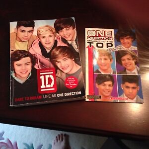 2 ONE DIRECTION BOOKS