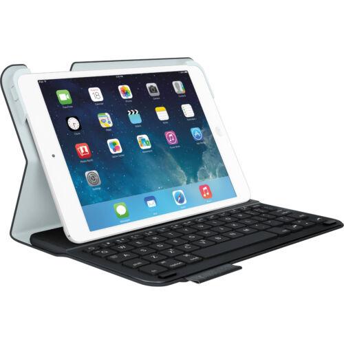 Logitech Ultrathin Keyboard Folio Case for Apple® iPad® mini, iPad mini 2 and iPad mini 3 Carbon Black 920-005893