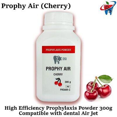 Dental Prophy Air Prophylaxis Powder Polish Teeth Remove Stain Cherry 300g