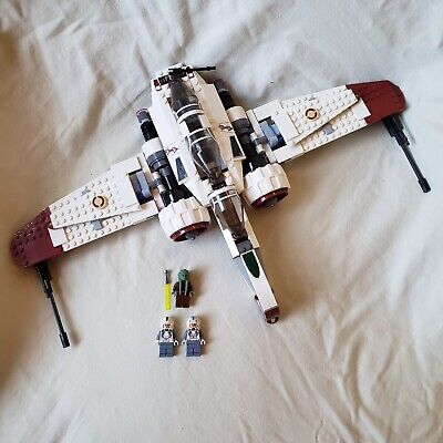 LEGO Star Wars Arc-170 Starfighter 8088 100% Complete ship; No Droid, Box, Books