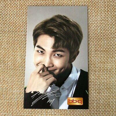 BTS RM Rap Monster #2 Bangtan Boys / BBQ Official PhotoCard  / New / +Shop gift