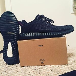 Adidas yeezy 350 pirate black size 9.5