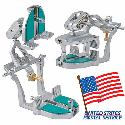 Usa Adjustable Magnetic Articulator Dental Lab Dentist Full Mouth Aluminum Alloy