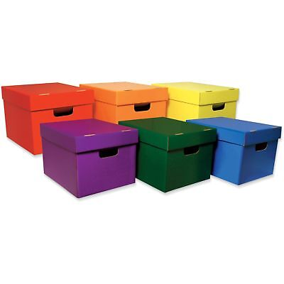 Pacon Storage Toes 10-18x12-14x15-14 6ct Assorted 001333