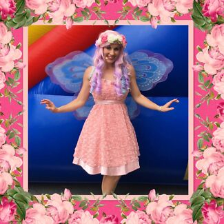 FACE PAINTING FAIRY PARTY - BIRTHDAY ENTERTAINER GOLD COAST