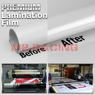 60x240 Cold Laminating Film Gloss Clear Monomeric Lamination Poster Sign Decal