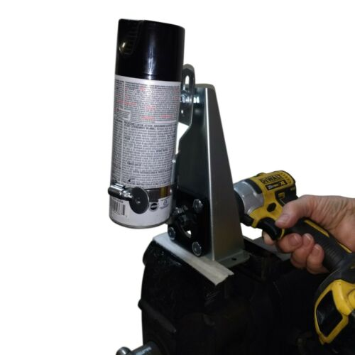 SPRAY CAN PAINT SHAKER / Mixer - Foam - Bed Liner / Use Any Drill - Shake Right