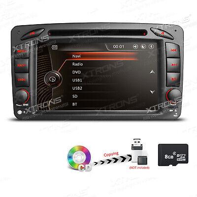 Autoradio DVD 8G SD USB GPS Navi für Mercedes Benz C/CLK/G W203 W209 W463 Vito