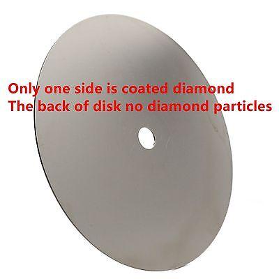 """как выглядит Товар для шлифовки стекла 6"""" inch 150mm Grit 240 Diamond coated Flat Lap Disk Grinding Polish Wheel Glass фото"""