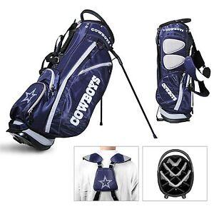 Licensed NFL Dallas Cowboys Fairway Divider Team Golf Stand Bag