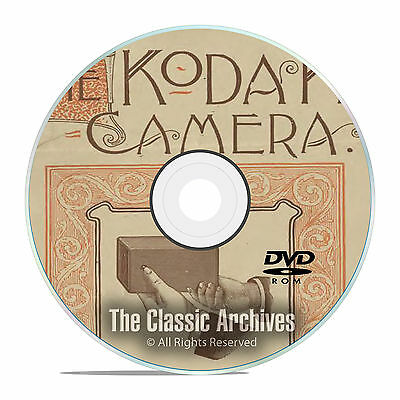 The History of Kodak Cameras, Antique Advertising, Manuals, Catalogs PDF DVD E64