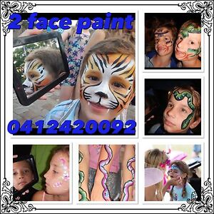 2 face paint Mudgeeraba Gold Coast South Preview