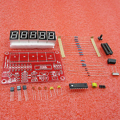 Crystal Oscillator Frequency Counter 1hz-50mhz Dds Meter Digital Led Kits L1st