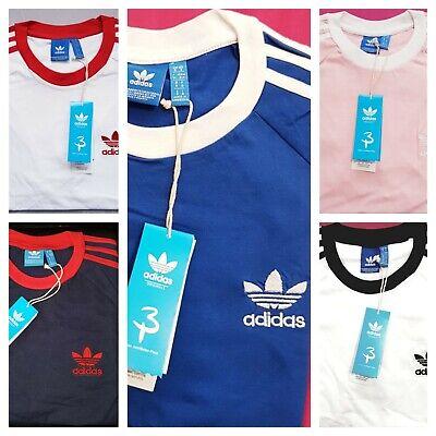 Adidas Originals Retro California Short Sleeve Crew Neck Mens T-Shirt Brand New