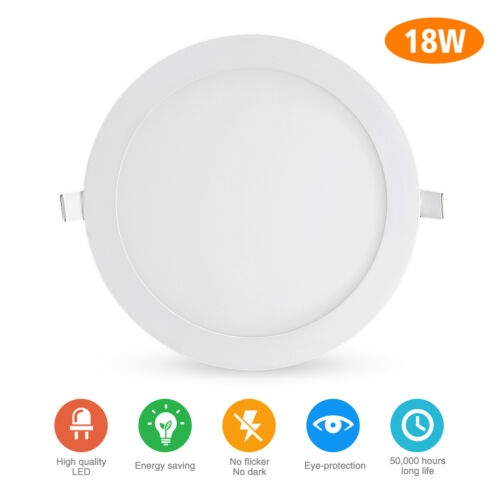 6 Pack 8 Inch LED Ceiling Lights Ultra-Thin Recessed Retrofi
