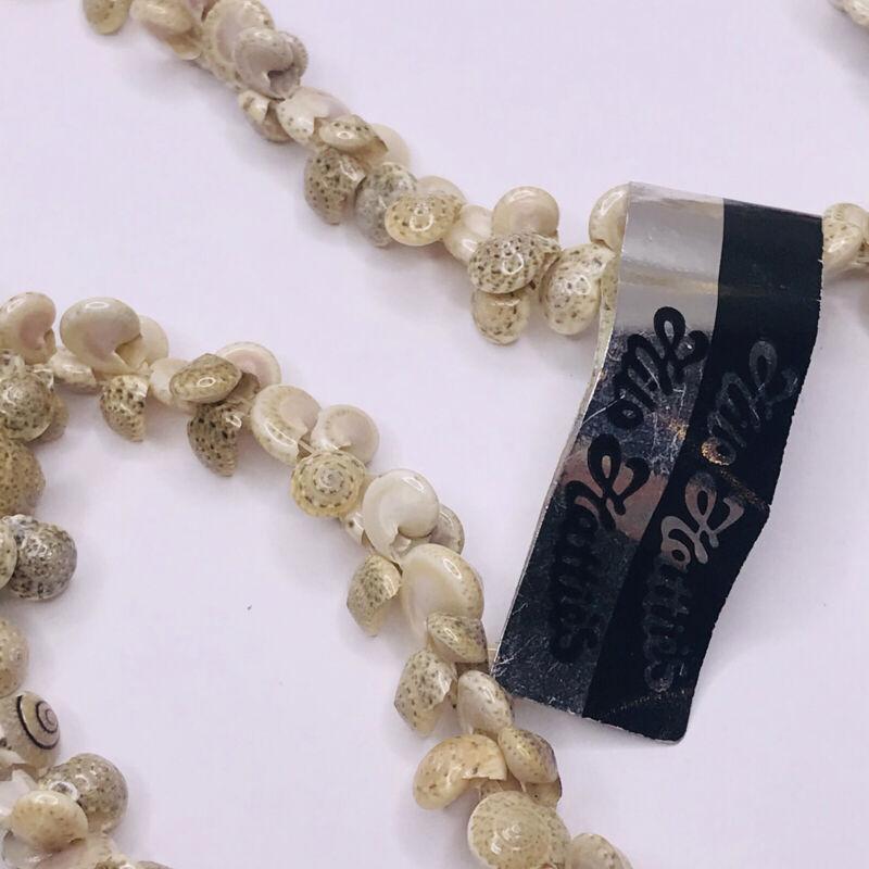 "Hilo Hattie Puka Shell Necklace Set of 4 30-32"" Seashell Handmade"