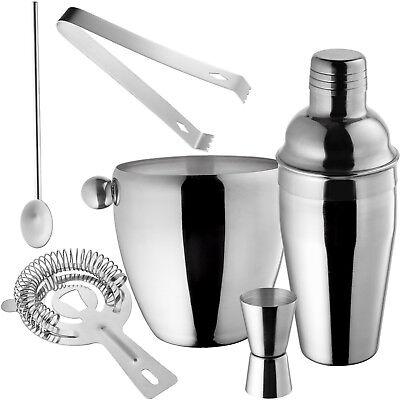 Set de Cocktail Shaker Cocktail Mixer Shaker doseur porer 6 pièces