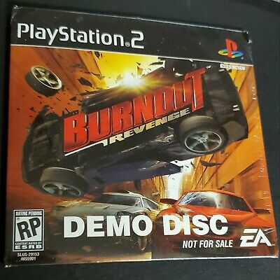 Used, PlayStation 2 Burnout Revenge Demo Disc 2005 EA SLUS-29153 PS2 SEALED RARE for sale  Shipping to Nigeria