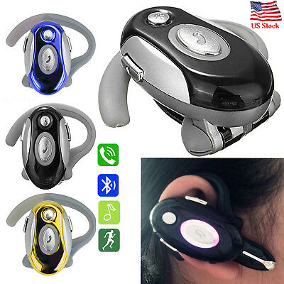Bluetooth Headset Wireless Earphone Voice Dial Headphone for Samsung S9 S8 S7 - Bluetooth Headset Voice Dial
