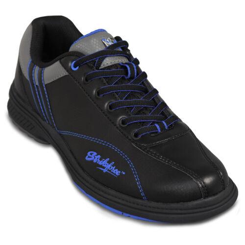 KR Strikeforce Raptor BLACK/BLUE Right Handed Interchangeable Mens Bowling Shoes
