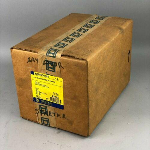 Square D 8736SBO4V02S Magnetic Motor Starter NEMA 0 (8736SBO4S)  BRAND NEW
