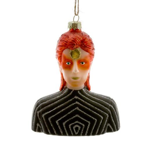 Cody Foster Glass Ziggy Stardust Bowie Glam Rock Retro Christmas Ornament Decor