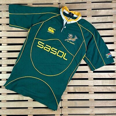 sizes M  XL 2XL South Africa Springboks Rugby Home Pro Mens Jersey