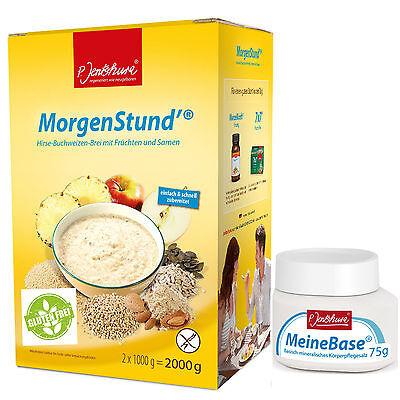 Jentschura MorgenStund 2000g + Gratis 75g MeineBase + Rezepte und Proben