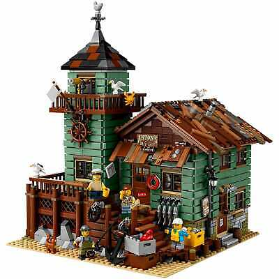 LEGO 21310 Ideas Old Fishing Store-New in Sealed Box-Retired-Hard to Find