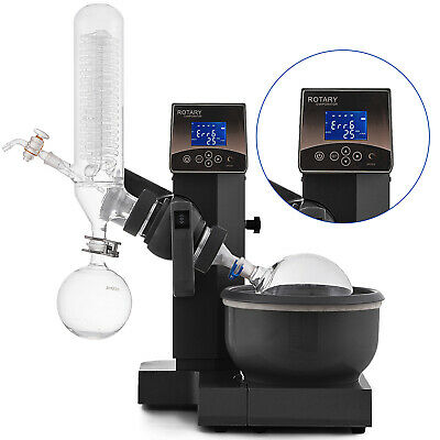 2l Rotary Evaporator Rotovap Re-200a Lab Equipment Borosilicate Glass 20-200rpm